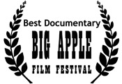 BIG APPLE FILM FESTIVAL Best Documentary